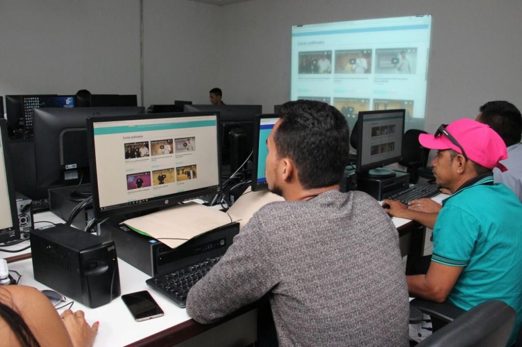Workshop com alunos 2